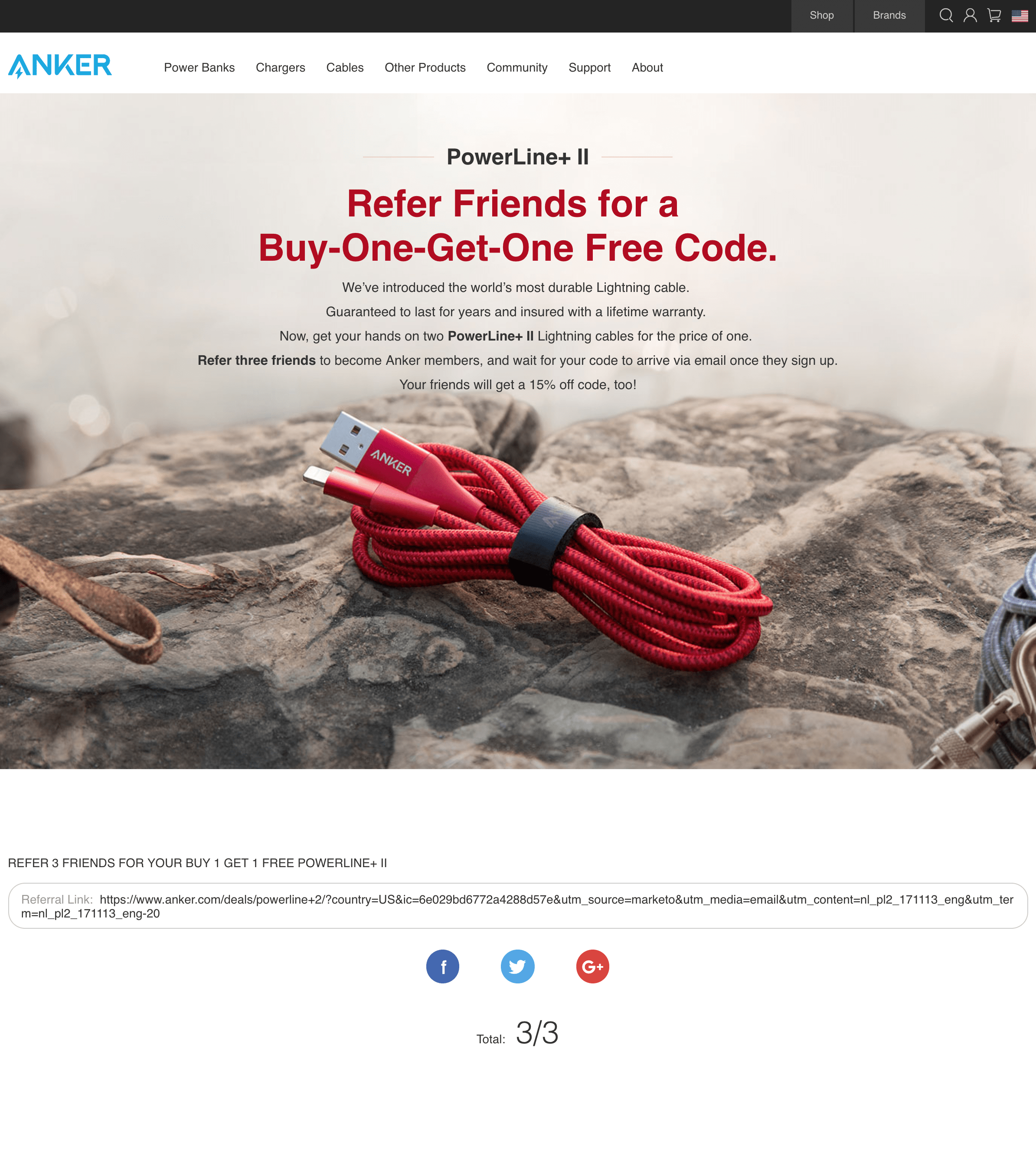Never Got My Buy 1 Get 1 Free Coupon Code Anker Help